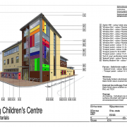 Wapping Children's Centre, Wapping, London - Construction