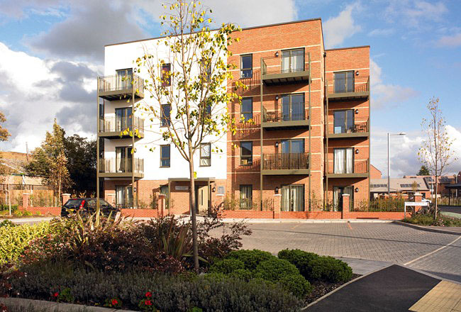 Lymington Place, Barking, London - As Built