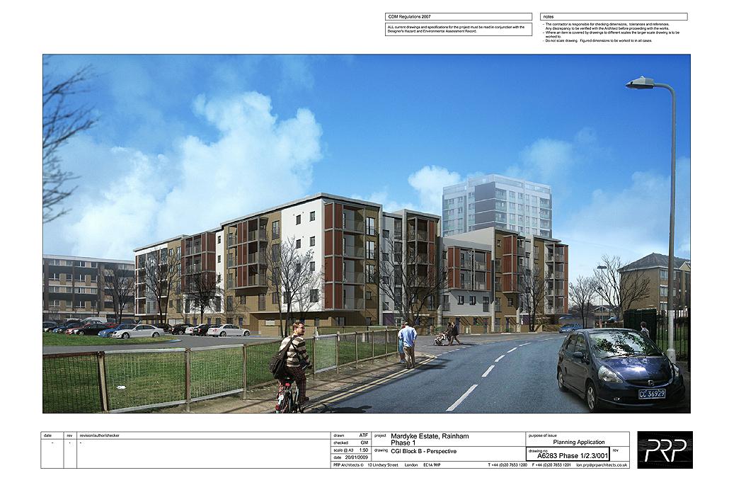 Orchard Village Phase 1, Rainham, London - Planning