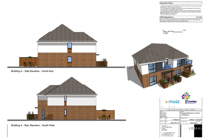 Ely Close, Crawley - Planning