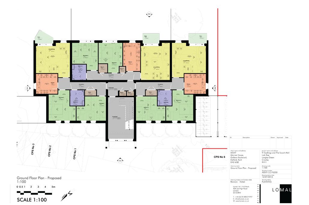 Lark Rise Phase 3, Crawley - Planning