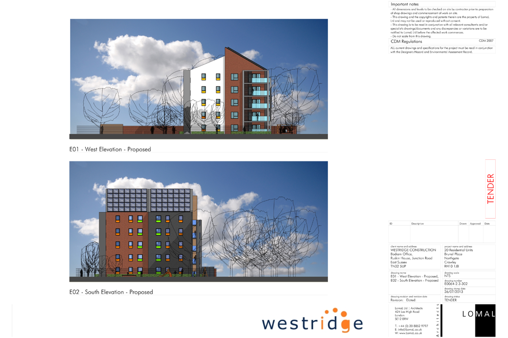 Brunel Place, Crawley – Feasibility Study