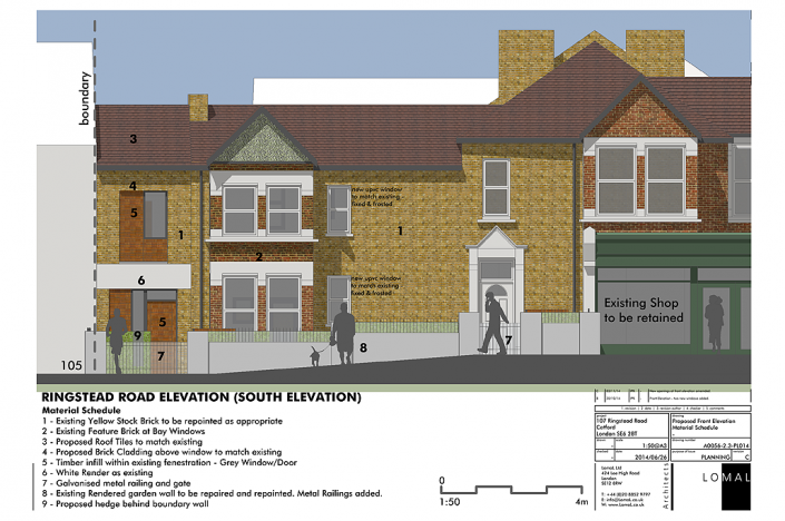 Ringstead Road, London - Planning