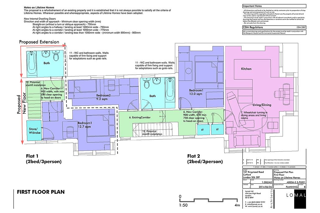Ringstead Road, London - Planning