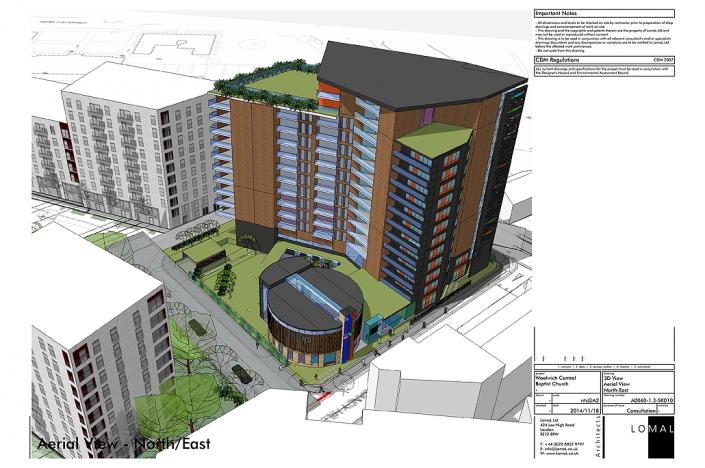 Woolwich Central Baptist Church, Woolwich, London - Feasibility Study