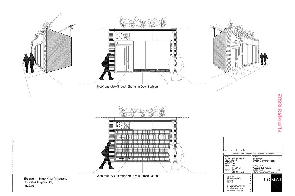 Lee High Road, London - Planning