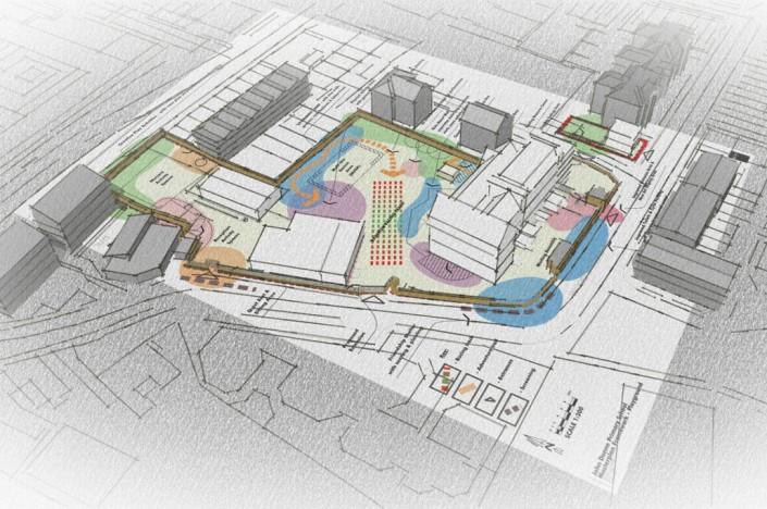 John Donne Primary School, London - New Playground - Feasibility Study