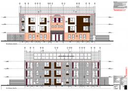 Lark Rise Phase 1, Crawley - Construction