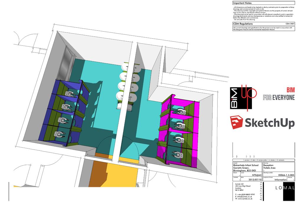 Oasis Academy Blakenhale Junior School, Birmingham – Space Remodeling - BIM