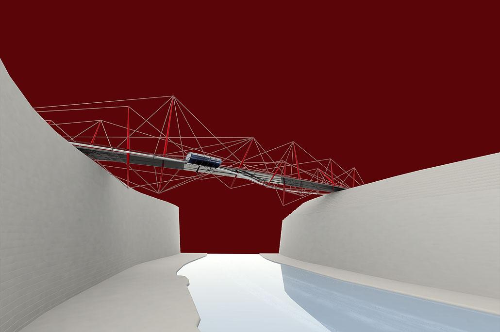 The Brunel Bridge, UK - Competition